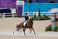 GER-Sandra Auffarth (OPGUN LOUVO) 2012 LONDON OLYMPICS (Sunday 29 July 2012) EVENTING DRESSAGE: INTERIM-=7TH (40.00)