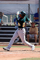 Eric Patterson - Oakland Athletics - 2009 spring training.Photo by:  Bill Mitchell/Four Seam Images