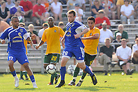 Ely Allen (minn)...AC St Louis and NSC Minnesota Stars played to a 2-2 tie at Anheuser-Busch Soccer Park, Fenton, Missouri.