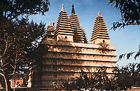 China:  Chinese Architecture--Pagodas--five-of the five pagodas temple, Beijing.  Ming Dynasty 1473 A.D. Indian influence.