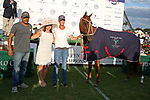 WELLINGTON, FL - APRIL 25:  Horse of the Year is Los Machitos Jazzita by Facundo Pieres at the International Polo Club Palm Beach, on April 25, 2017 in Wellington, Florida. (Photo by Liz Lamont/Eclipse Sportswire/Getty Images)
