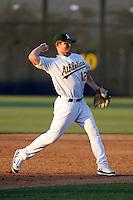 Stephen Parker -  AZL Athletics - 2009 Arizona League.Photo by:  Bill Mitchell/Four Seam Images