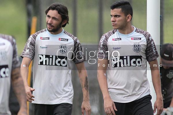Campinas (SP), 06/01/2020 - Ponte Preta / Futebol - Apodi, Bruno RodriguesA equipe da Ponte Preta realizou treino nesta segunda-feira (6), no CT do Jd Eulina, na cidade de Campinas (SP).