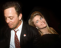 #BIllyJoel #ChristieBrinkley 1982<br /> Photo By Adam Scull/PHOTOlink.net