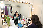 Lindsay Mendez backstage at  The American Pops Orchestra '75 Years of Streisand'  at the George Washington University Lisner Auditorium on January 13, 2017 in New York City.