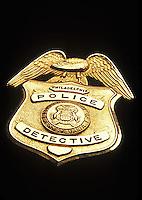 Philadelphia Police Detective Badge<br />