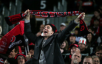 Fans in the stands during the 2021 Super Rugby Aotearoa final between the Crusaders and Chiefs at Orangetheory Stadium in Christchurch, New Zealand on Saturday, 8 May 2021. Photo: Joe Johnson / lintottphoto.co.nz