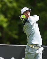 21.05.2015. Wentworth, England. BMW PGA Golf Championship. Round 1.  Thorbjørn Olesen [DEN] on the Par 4 3rd, during the first round of the 2015 BMW PGA Championship from The West Course Wentworth Golf Club