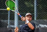 Rotterdam, Netherlands, August 22, 2017, Rotterdam Open, Nick Chapell (USA)<br /> Photo: Tennisimages/Henk Koster