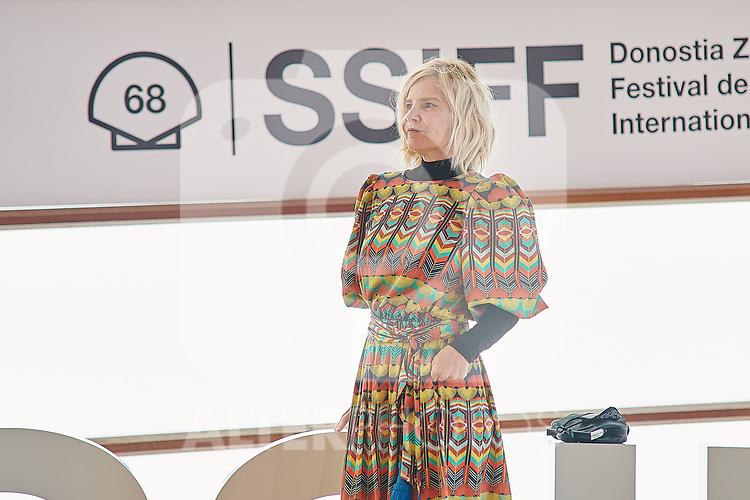 Eugenia Martinez de Irujo,attend the Photocall of 'Oso' during the 68th San Sebastian Donostia International Film Festival - Zinemaldia.September 25,2020.(ALTERPHOTOS/Yurena Paniagua)