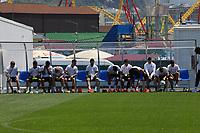 Deutsche Mannschaft bereitet sich auf das Training vor - 24.06.2017: Training der Deutschen Nationalmannschaft, Fisht Stadium Sotschi