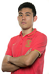 Li Xuepeng of Guangzhou Evergrande poses for the official photo prior to the Guangzhou Evergrande vs Gamba Osaka match as part the AFC Champions League 2015 Semi Final 1st Leg match on September 29, 2015 at  Tianhe Sport Center in Guangzhou, China. Photo by Aitor Alcalde / Power Sport Images