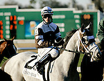 Feb 2010:  Tempted to Tapit and David Cohen before the Risen Star Stakes at the Fairgrounds in New Orleans, La.