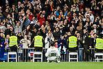 Real Madrid Alvaro Morata  during La Liga match between Real Madrid and Deportivo de la Coruña at Santiago Bernabeu Stadium in Madrid, Spain. December 10, 2016. (ALTERPHOTOS/BorjaB.Hojas)