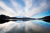 A stunning landscape, in a stunning land - Lake Wanaka really putting on a fine show of its beautiful nature, with clouds being shaped by the snow-capped peaks, reflected in pristine calm waters... breathtaking, and beautifully shot by New Zealand landscape photographer Christopher Thompson