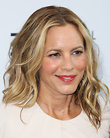 LOS ANGELES, CA, USA - AUGUST 23: Maria Bello arrives at The National Women's History Museum and Glamour Magazine's 3rd Annual Women Making History Brunch held at the Skirball Cultural Center on August 23, 2014 in Los Angeles, California, United States. (Photo by Xavier Collin/Celebrity Monitor)