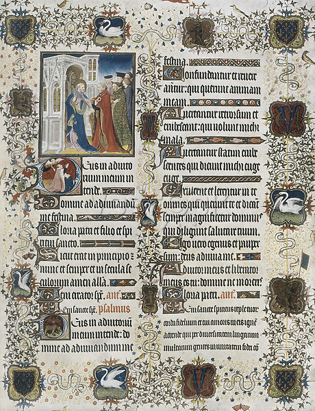 LIMBOURG, Jean (ca. 1370-1416); LIMBOURG, Herman (ca. 1370-1416); Limburg, Pol de  (¿?-h.1416). The Richly decorated Hours of