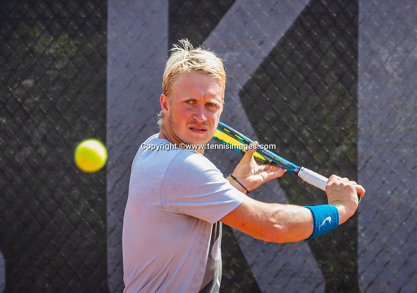 Amstelveen, Netherlands, 10 August 2020, NTC, National Tennis Center, Jelle Sels (NED)  <br /> Photo: Henk Koster/tennisimages.com