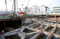 Construction on Fisherman's Wharf, phase two, in Macau.<br /> May 08, 2007