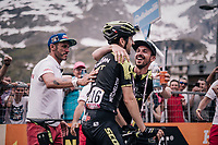 Mikel Nieve (ESP/Mitchelton-Scott) wins the 20th stage on his 34th birthday<br /> <br /> stage 20: Susa - Cervinia (214km)<br /> 101th Giro d'Italia 2018