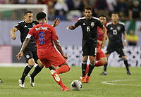 CHICAGO, ILLINOIS - JULY 07: Weston McKennie #8 during the 2019 CONCACAF Gold Cup Final match between the United States and Mexico at Soldier Field on July 07, 2019 in Chicago, Illinois.