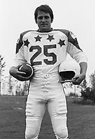 Terry Evanshen 1970 Canadian Football League Allstar team. Copyright photograph Ted Grant