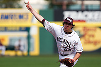 Dan Kickham (29) of the Missouri State Bears during a game vs. the Western Illinois Leathernecks at Hammons Field in Springfield, Missouri;  March 20, 2011.  Photo By David Welker/Four Seam Images