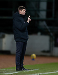 23.12.2020 St Johnstone v Rangers: Rangers manager Steven Gerrard