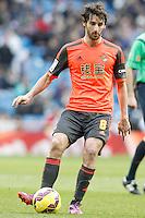 Real Sociedad's Esteban Granero during La Liga match.January 31,2015. (ALTERPHOTOS/Acero) /NortePhoto<br /> /NortePhoto.com