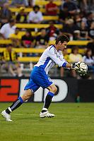 27 MAY 2009: #1 Joe Cannon of the San Jose Earthquakes in action during the San Jose Earthquakes at Columbus Crew MLS game in Columbus, Ohio on May 27, 2009. The Columbus Crew defeated San Jose 2-1