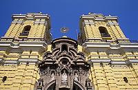 Amérique/Amérique du Sud/Pérou/Lima : Eglise de la Merced (XVIII°)