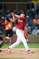 Scottsdale Scorpions Mitch Walding (31), of the Philadelphia Phillies organization, during the Bowman Hitting Challenge on October 8, 2016 at the Salt River Fields at Talking Stick in Scottsdale, Arizona.  (Mike Janes/Four Seam Images)