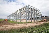 Constructing a 6,000 tonne box potato store - South Lincolnshire, May