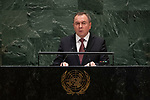 General Assembly Seventy-fourth session, 7th plenary meeting<br /> <br /> <br /> Belarus