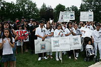 Montreal (QC) CANADA- August 9 2009 - Protest after the death of Freddy Villanueva, during a police operation