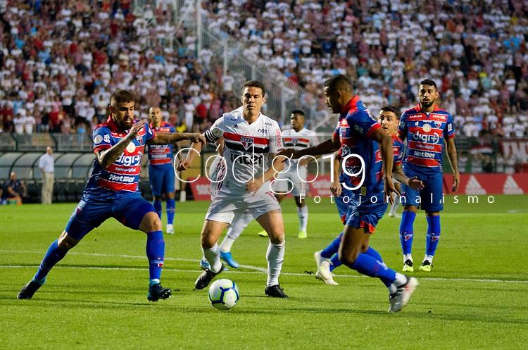 São Paulo (SP), 05/10/2019 - SÃOPAULO-FORTALEZA - Hernanes do São Paulo. São Paulo e Fortaleza, pela 23ª rodada do Campeonato Brasileiro 2019, no estádio do Pacaembu, neste sábado (05).