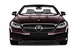 Car photography straight front view of a 2018 Mercedes Benz E Class 25th Anniversary 2 Door Convertible