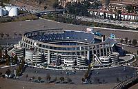 aerial photograph of the SDCCU Stadium, San Diego, California