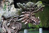 China, Guizhou, Dragon Palace Scenic Area.  Dragon's Head in Stone.