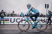 defending World Champion Sanne Cant (BEL/Iko-Beobank) to the start<br /> <br /> Women Elite Race<br /> UCI CX Worlds 2018<br /> Valkenburg - The Netherlands