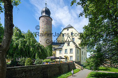 Germany; Free State of Thuringia, Eisfeld: medieval Eisfeld Castle   Deutschland, Thueringen, Eisfeld: das mittelalterliche Eisfelder Schloss