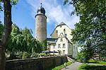 Germany; Free State of Thuringia, Eisfeld: medieval Eisfeld Castle | Deutschland, Thueringen, Eisfeld: das mittelalterliche Eisfelder Schloss