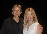 """Guiding Light's Grant Aleksander and  Cynthia Watros star in """"Breathing Under Dirt"""" - full play - had its world premier on August 13 and 14, 2016 at the Ella Fitzgerald Performing Arts Center, University of Maryland Eastern Shore, Princess Anne, Maryland  (Photo by Sue Coflin/Max Photos)"""