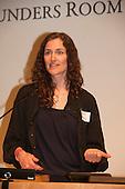 Washington DC, USA. Chico Vive conference, 5th April 2014. Suzannne Pelletier.