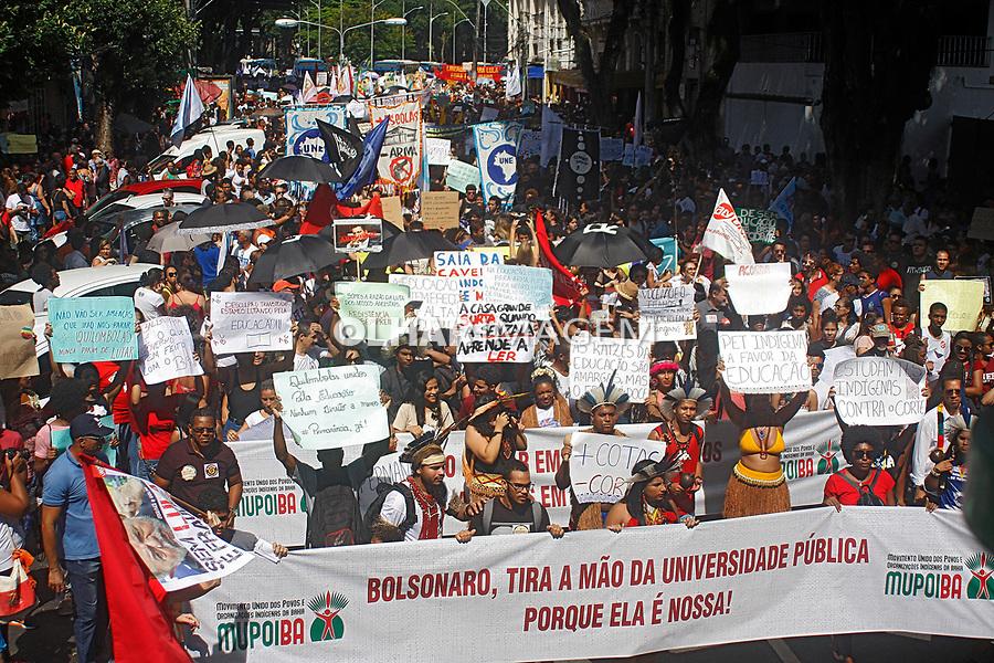 Manifestaçao contra cortes na educacao, Salvador, Bahia. 30.05.2019. Foto Euler Paixao