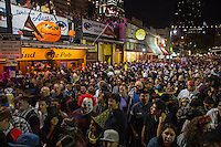Halloween on 6th Street in downtown Austin, Texas - Stock Photo, Image Gallery