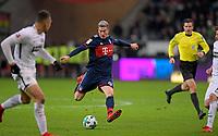 09.12.2017,  Football 1.Liga 2017/2018, 15. match day, Eintracht Frankfurt - FC Bayern Muenchen, in Commerzbank-Arena Frankfurt. Robert Lewandowski (FC Bayern Muenchen) . *** Local Caption *** © pixathlon<br /> <br /> +++ NED + SUI out !!! +++<br /> Contact: +49-40-22 63 02 60 , info@pixathlon.de