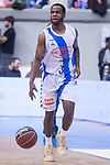 Gipuzkoa Basket Kenny Chery during Liga Endesa match between San Pablo Burgos and Gipuzkoa Basket at Coliseum Burgos in Burgos, Spain. December 30, 2017. (ALTERPHOTOS/Borja B.Hojas)
