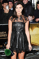 """Lucy Mecklenburgh<br /> at the """"Game of Thrones Hardhome"""" gala screening, Empire, Leicester Square London<br /> <br /> <br /> ©Ash Knotek  D3098 12/03/2016"""