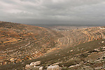 """Judea, Gush Etzion. Looking west from the """"Path of the Patriarchs"""""""